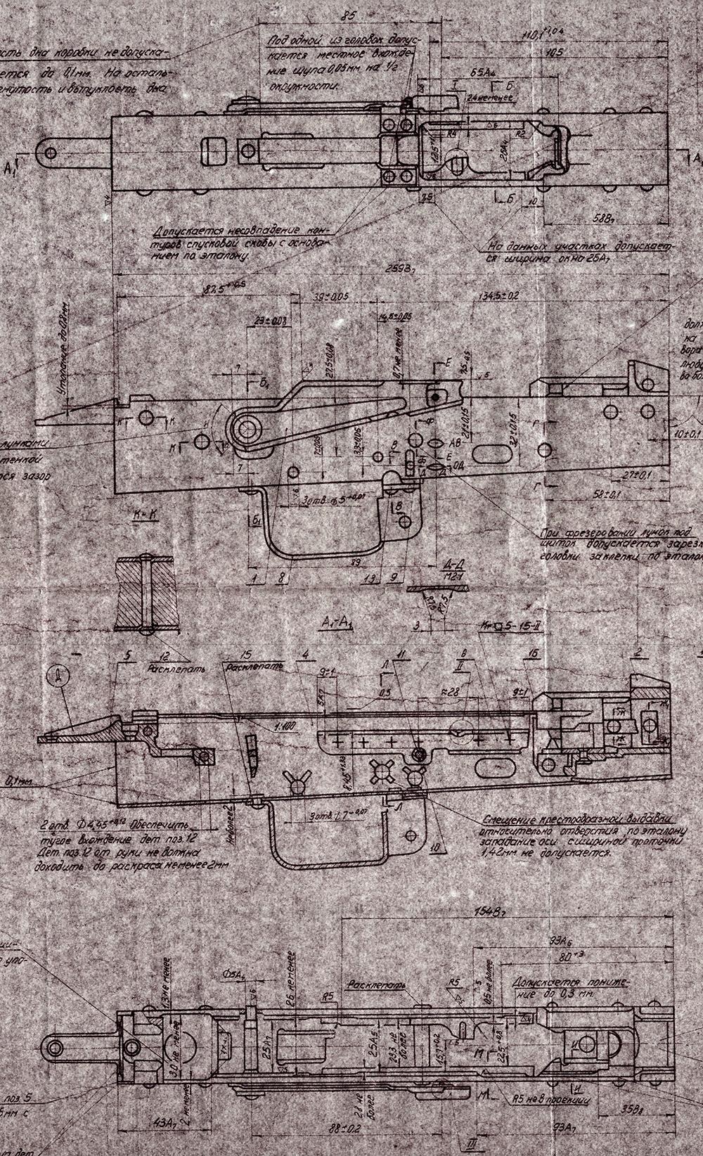 AK-47, AKM, Magazin, Bayonet, and Cleaning Kit Blueprints