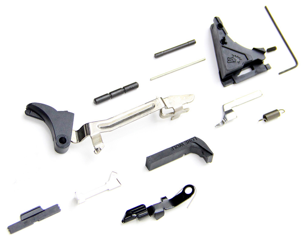 Details about  45 ACP Large Frame Premium Lower Parts Kit fits Glock 21  Gen3 and P80 PF45