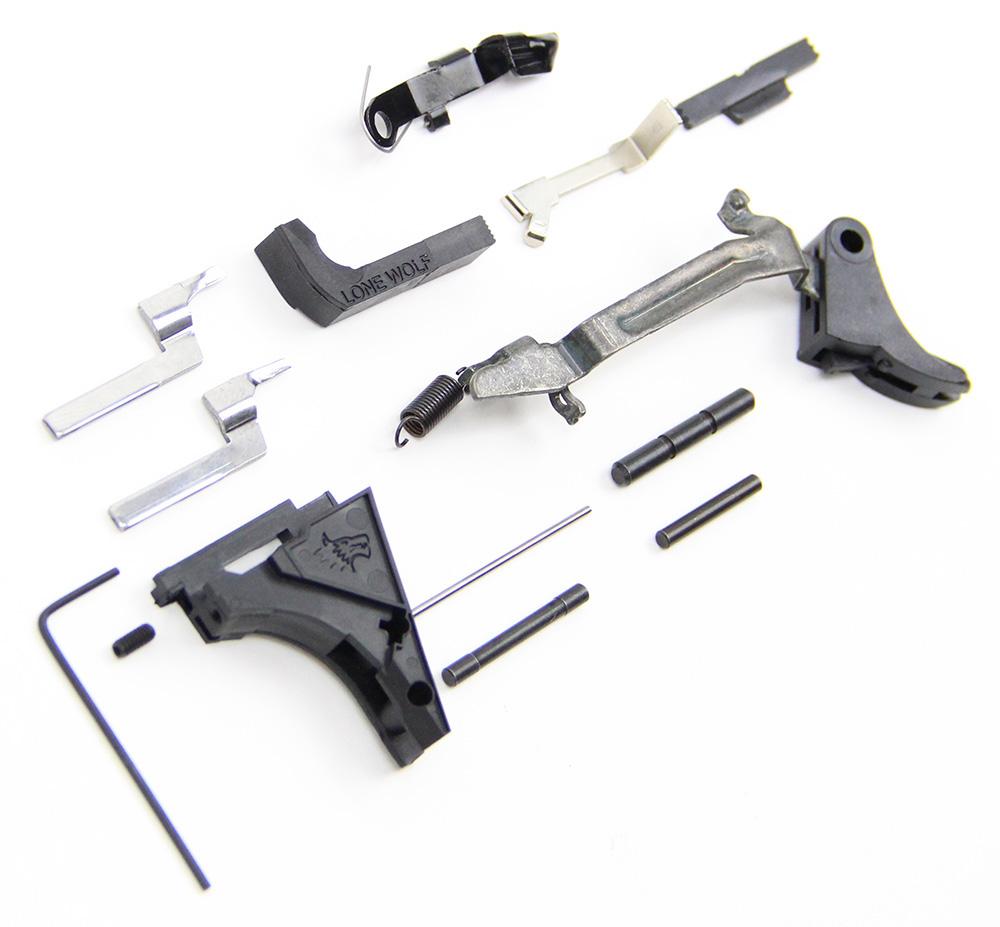 9mm Subcompact Premium Lower Parts Kit fits Glock 26