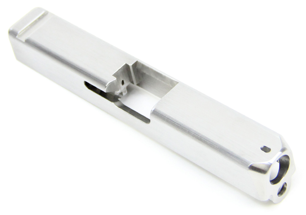 Details about Slide for Glock 19 P80 Gen 3 Polymer80 with Dovetail Cut in  Stainless Steel